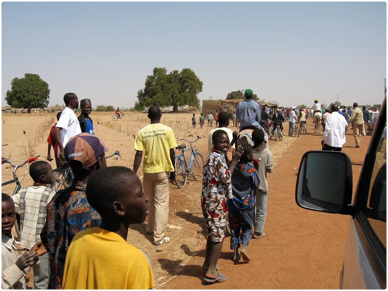 arrivée au village en 2006