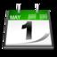 Calendrier date icone 6871 64
